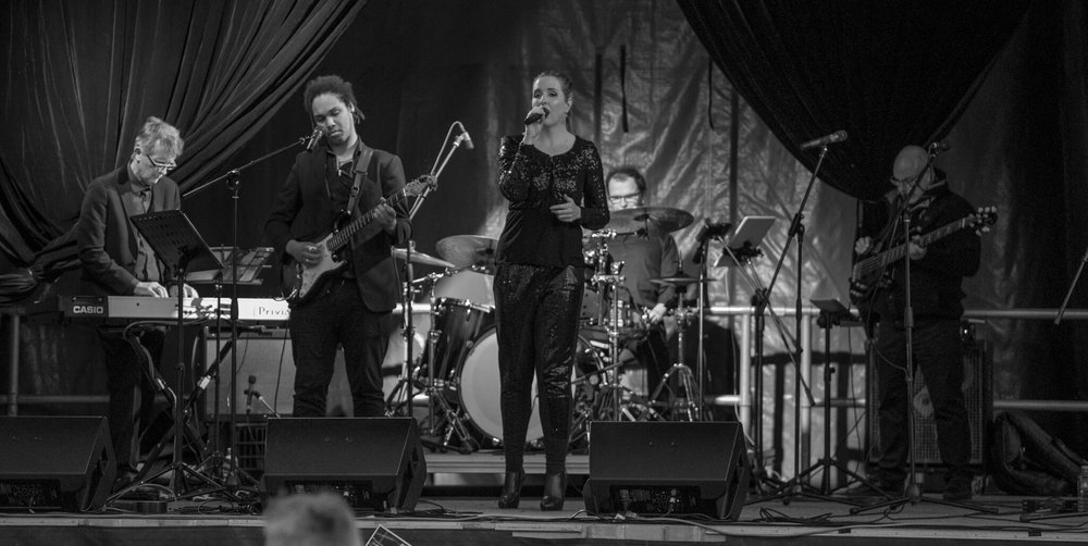 The awesome band for Saturday night! This photo was taken at Circular Quay in Sydney last year.
