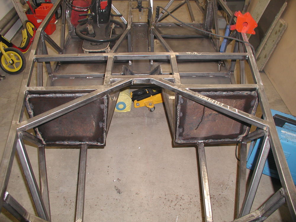 Item 11 - Footwell end plates fully welded