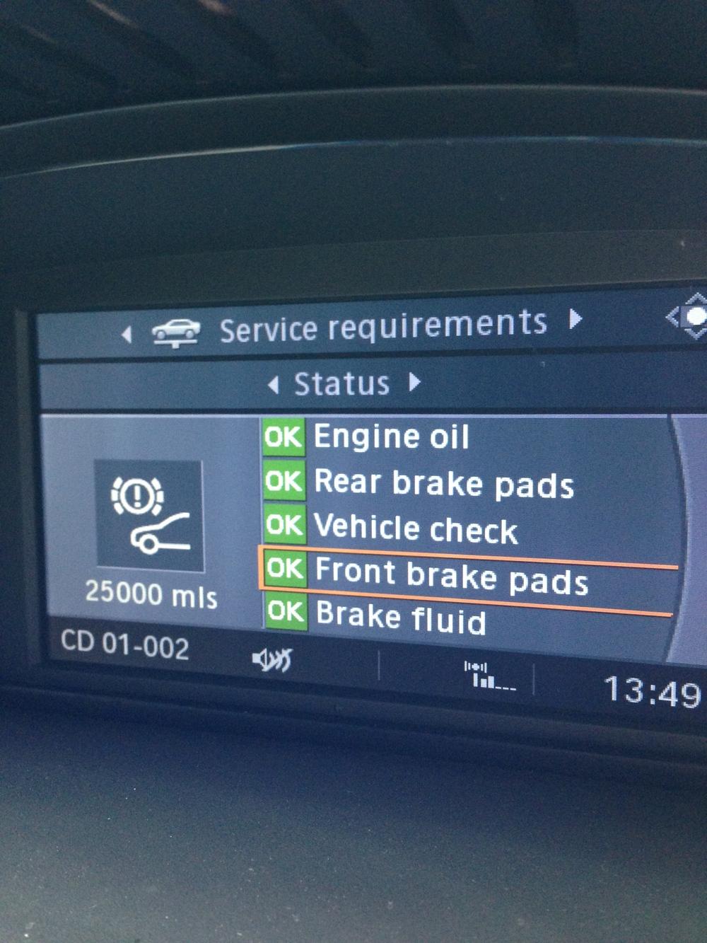 i-Drive display
