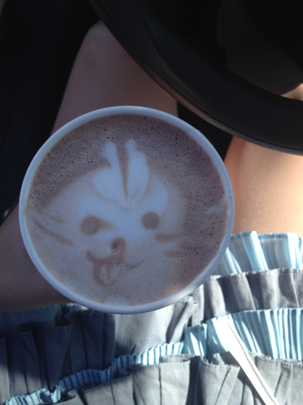 Second cup bunny