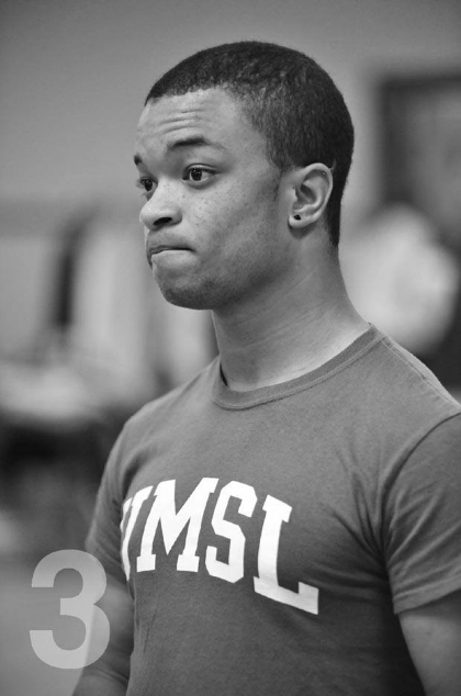 Jacob Cameron Evans-Teasley (Photo by Joel Currier)