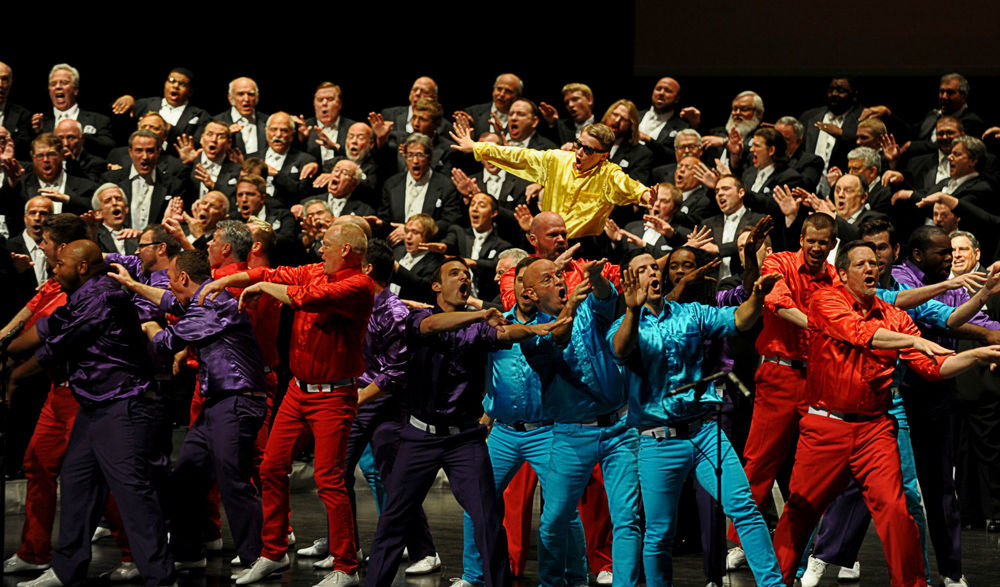 Photo - Lorin May, Barbershop Harmony