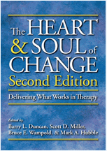 The Heart & Soul of Change edited by Barry Duncan, Scott Miller, Bruce Wampold & Mark Hubble