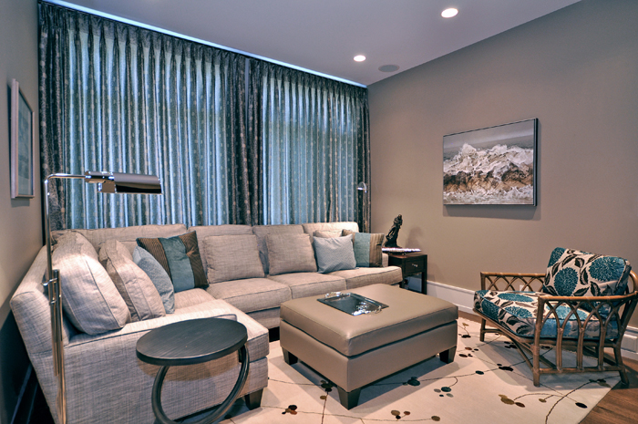 HOUZZ ARTICLE APRIL 2012: Sectional and Ottoman Matchmaking Tips