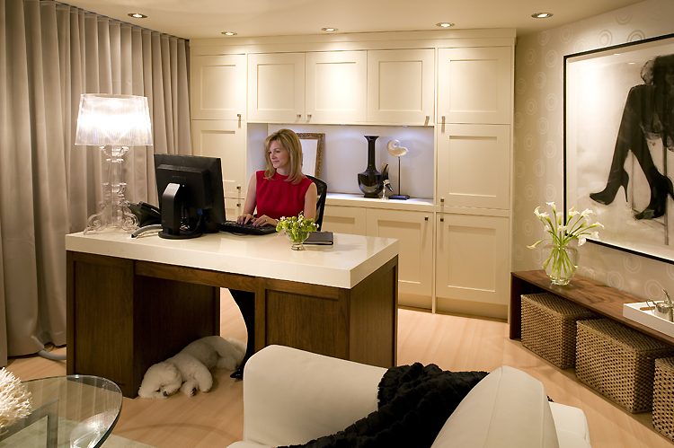 HOUZZ ARTICLE AUGUST 2012: How to Turn Your Basement Into an Office