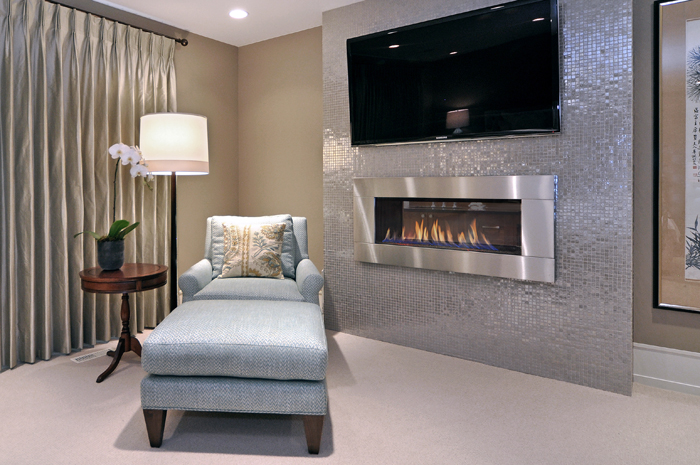 HOUZZ ARTICLE SEPTEMBER 2012: Cozy Up to the Fireplace