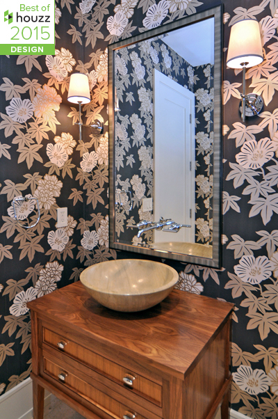 best of Houzz — Johnson & ociates Blog Houzz Powder Room Bathrooms Designs on wallpaper powder bathroom, beach powder bathroom, houzz dining room,