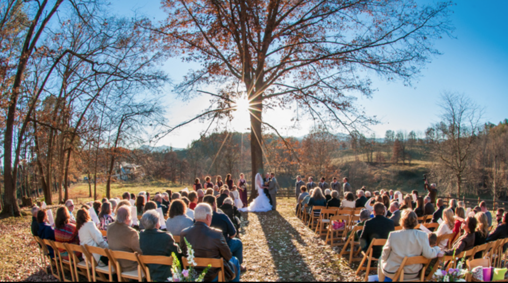ceremony field at yesterday spaces