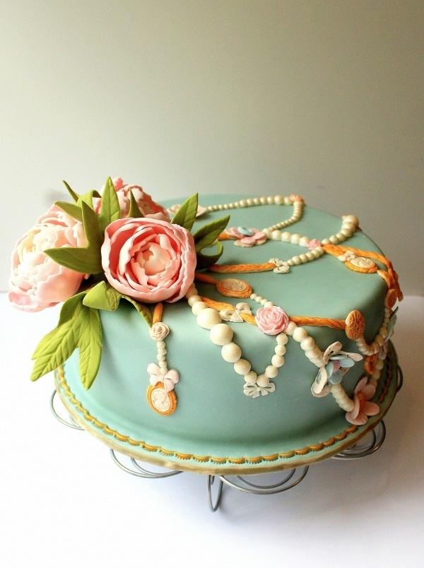 single layer wedding cakes–a sweet start