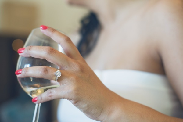 Where to wear your engagement ring during the ceremony | Photo by  A Love Supreme Photography