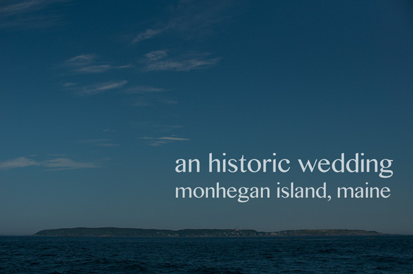 The first gay wedding on Monhegan Island, Maine officiated by  A Sweet Start , a Maine wedding officiant.