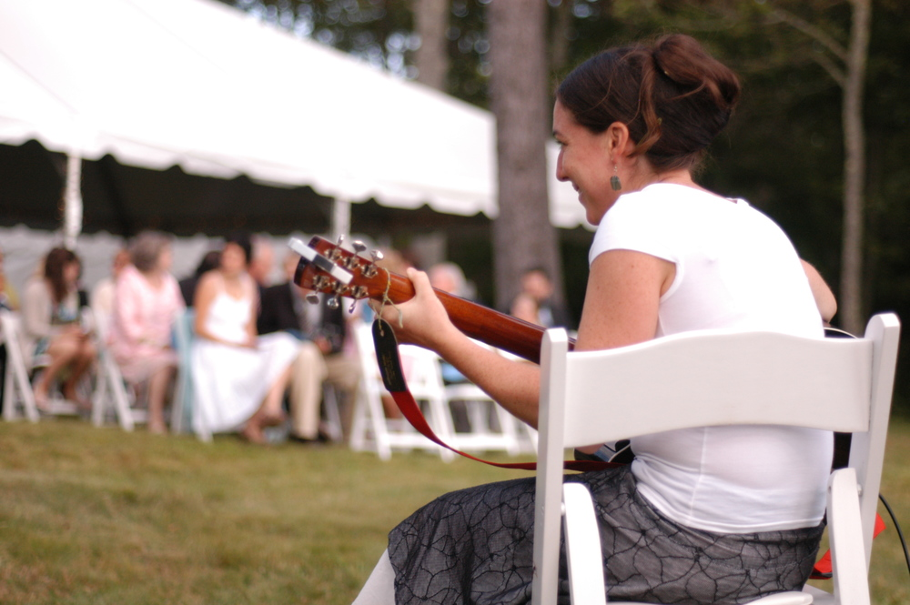 Maine wedding ceremony musicians |  Amy Wilton Photography
