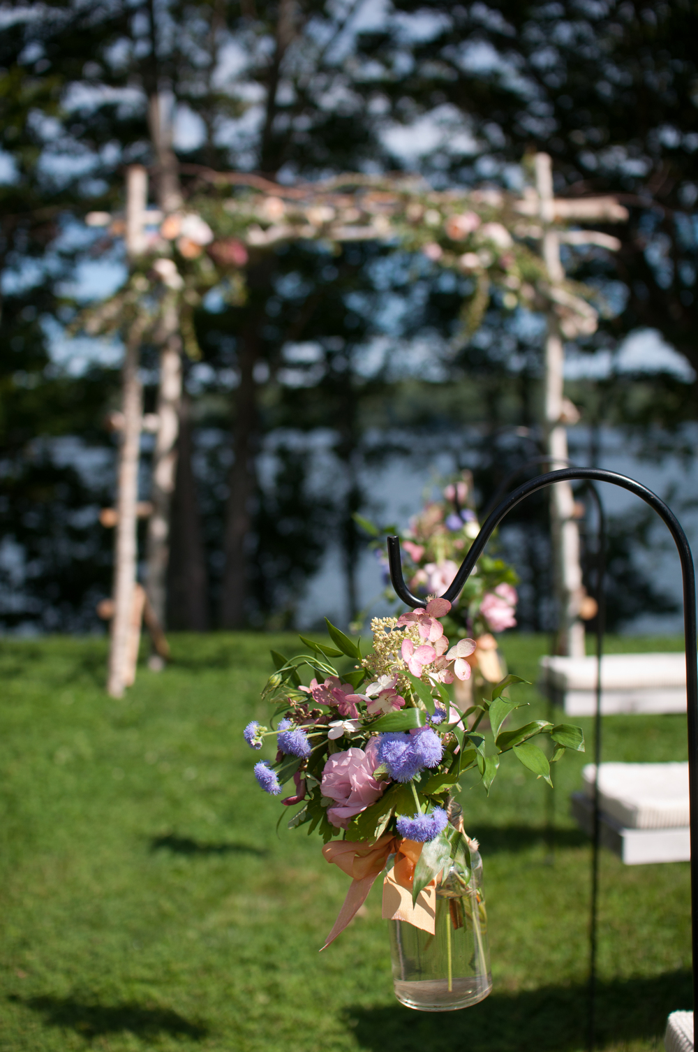 Lavender Farm Wedding | Wiscasset, Maine