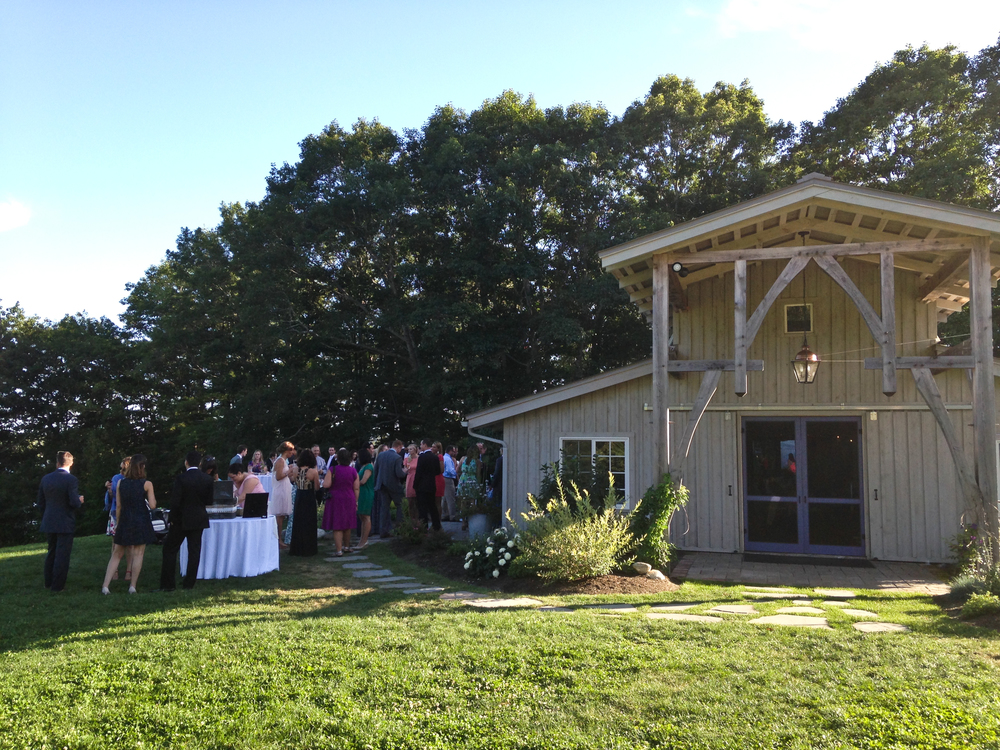 Lavender Farm Barn Wedding | Wiscasset, Maine
