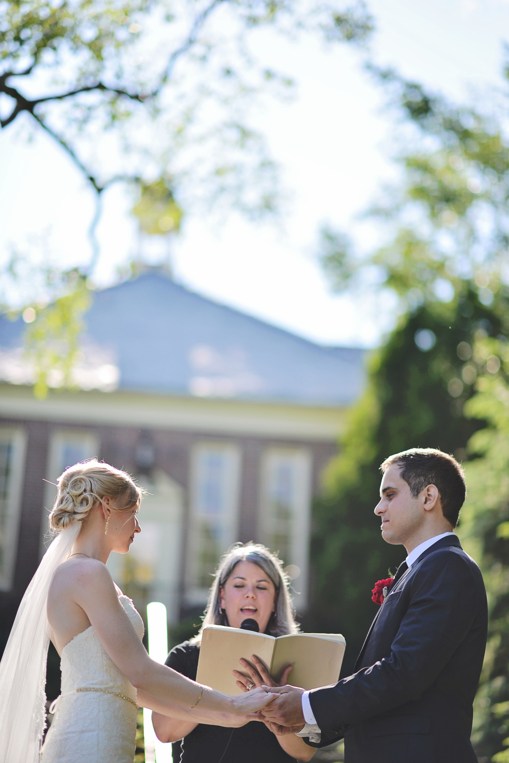 Maine wedding officiants | Photo by  Closer North Photography