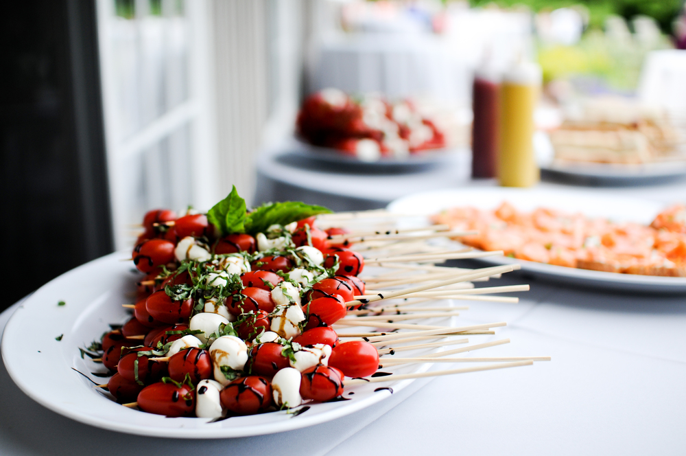 Make sure you eat on wedding day | Photo by A Sweet Start a Maine wedding officiant