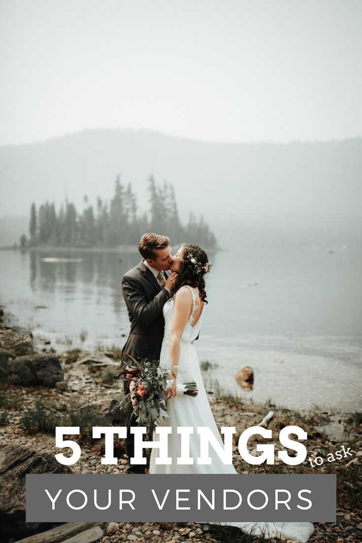 5 things to ask potential wedding vendors before you hire them | Photo by  Benjaminrobyn Jespersen  on  Unsplash
