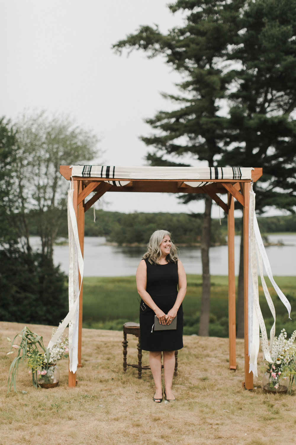 Common wedding officiant myths debunked | Photo of  A Sweet Start  by  Emily Delamater Photography
