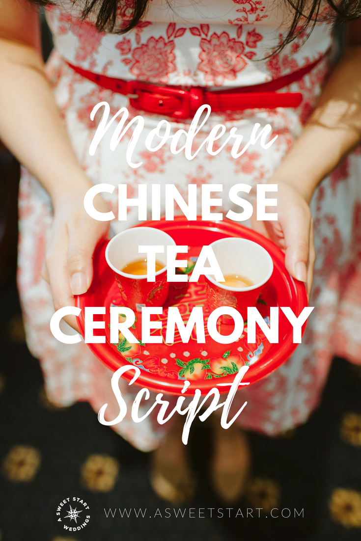 Modern Chinese Tea Ceremony Script–A Sweet Start