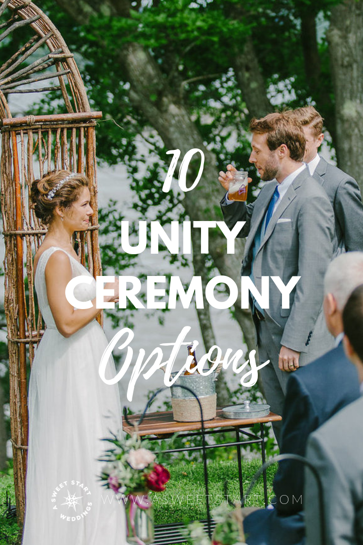 A beer ceremony is just one way to include a unity ritual in your wedding. Read the full post for other unity ceremony ideas! Photo by  Greta Tucker Photography