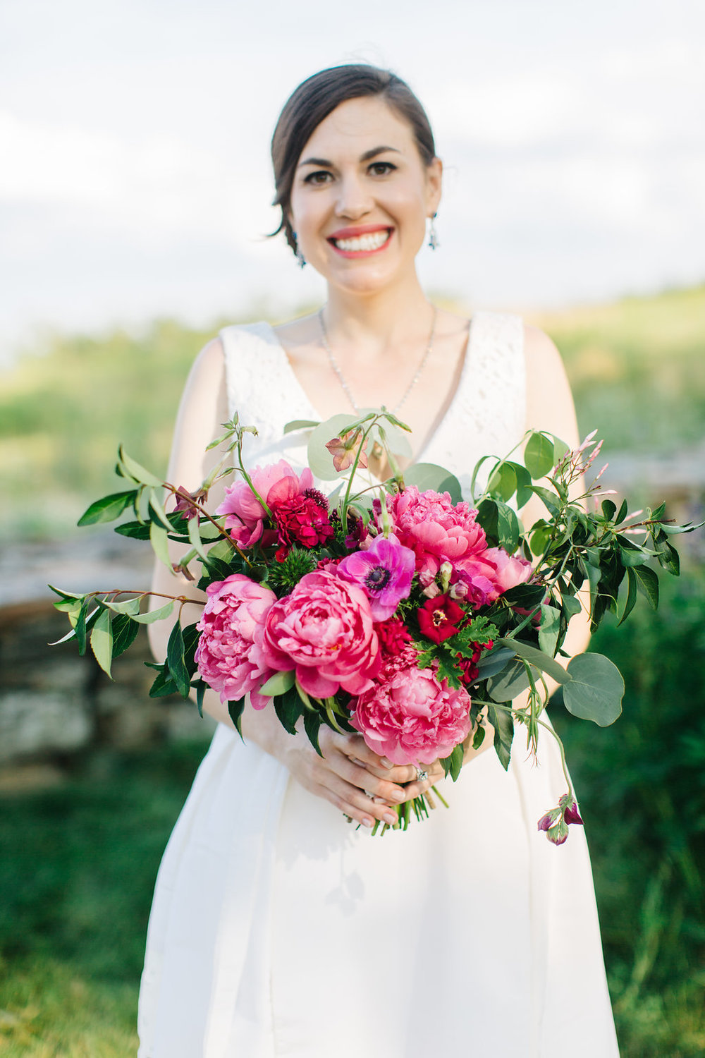 The ultimate list of Maine wedding florists and Maine wedding floral designers | Bouquet by  Blue Cloud Farm  Photo by  Greta Tucker Photography