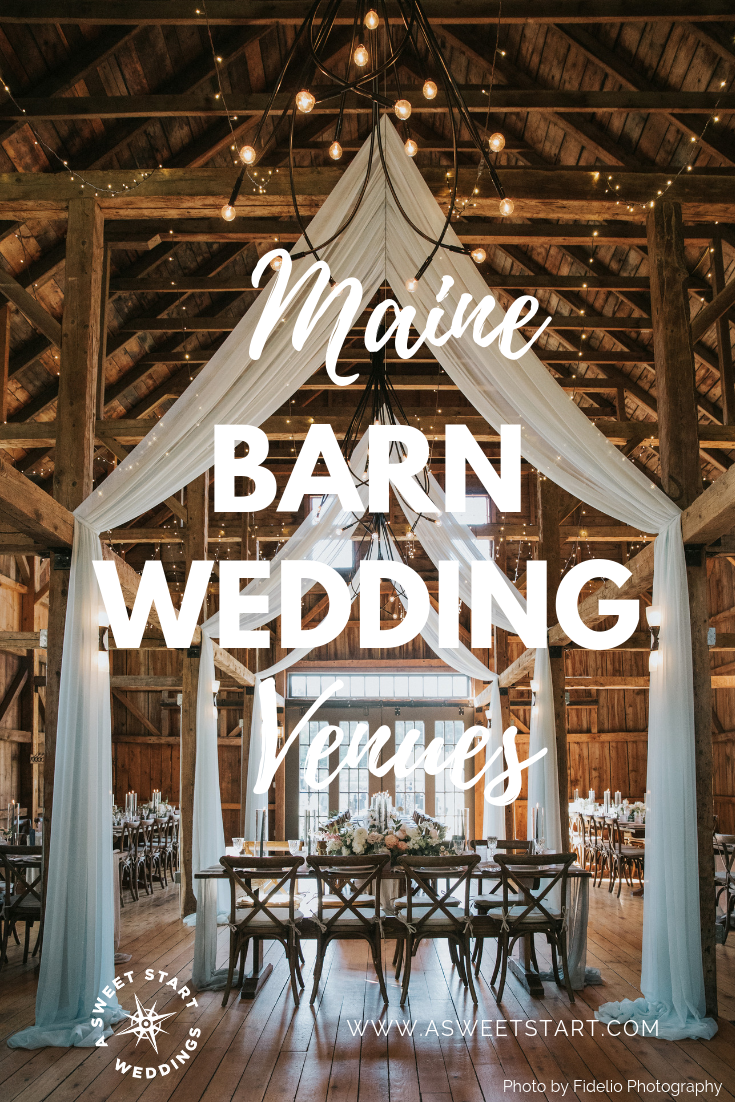 The best list of Maine barn venues and Maine farm venues | Photo by  Fidelio Photography