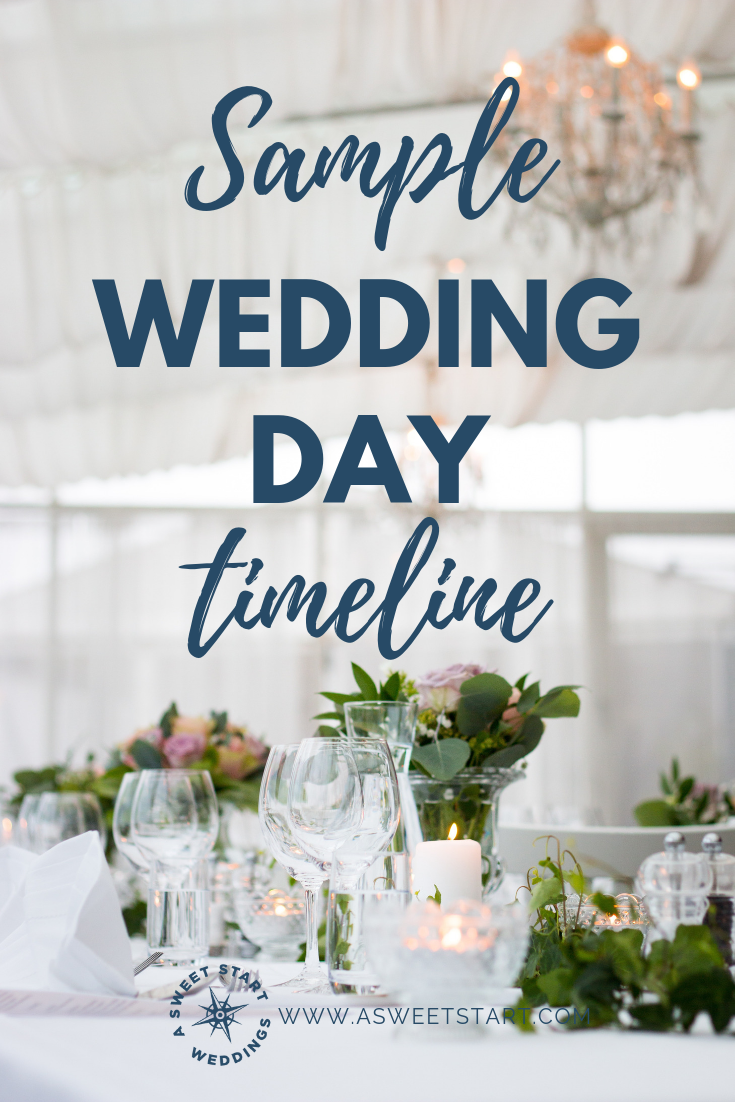 Sample wedding day timeline for a well-paced wedding | Photo by  Evelina Friman