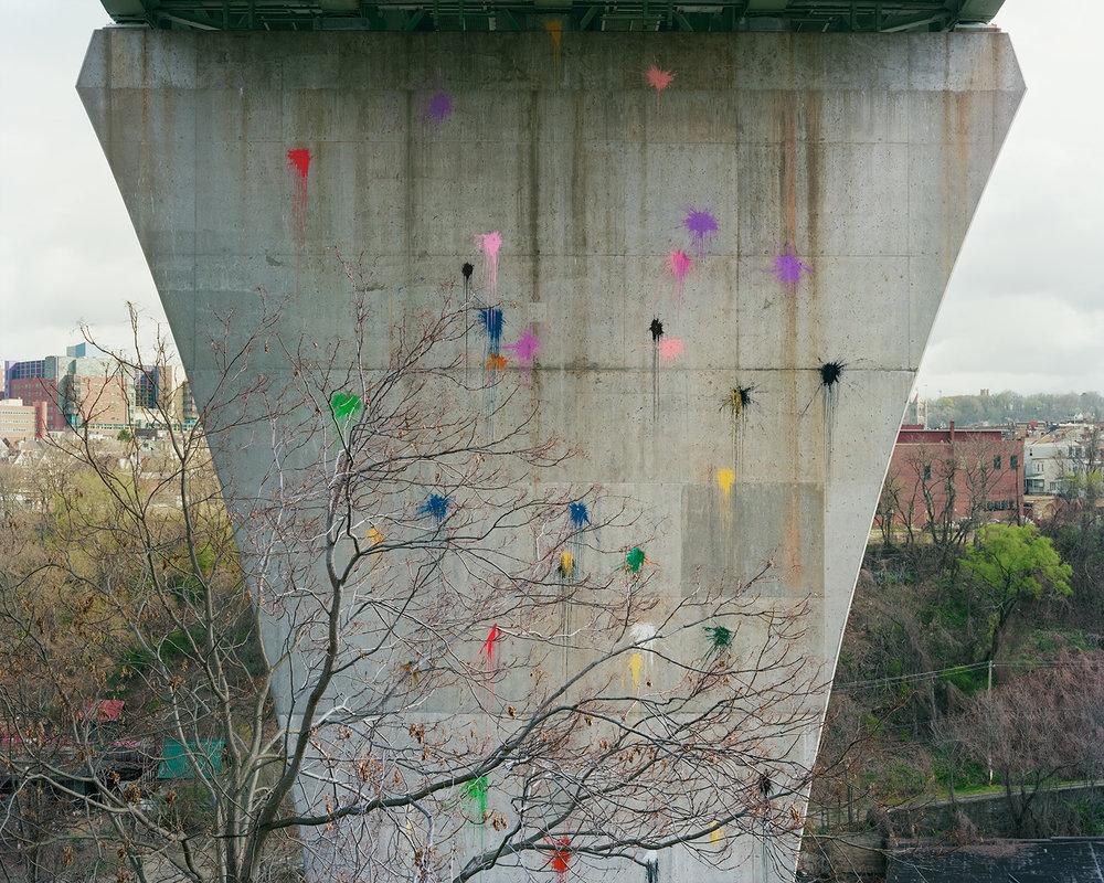 Paintballs, Bloomfield Bridge, Pittsburgh, PA