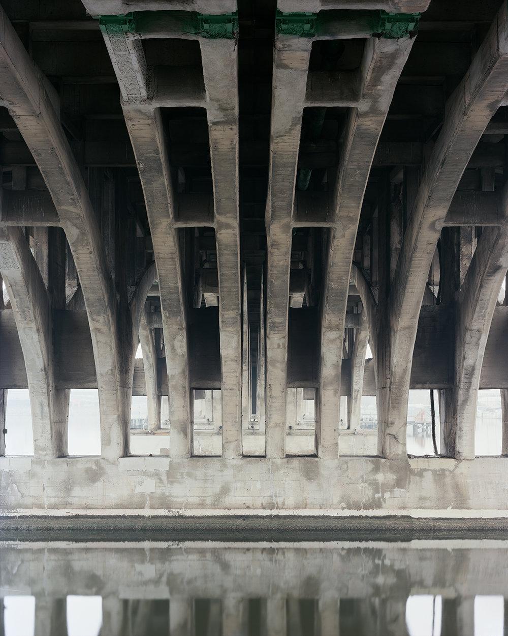 Hanover Street Bascule Bridge, Baltimore, MD. 2016
