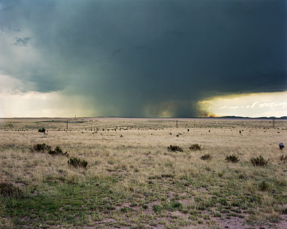 Storm Cloud, Marfa, TX. 2010