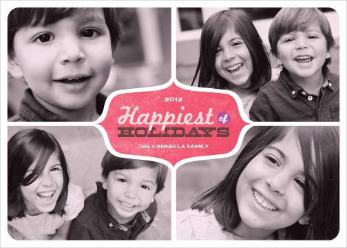 Happiest of Holidays, Editor's Pick | Minted's 2012 Holiday Challenge