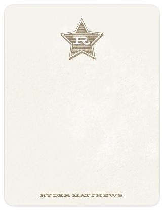 Li'l CowboyFlat Stationery