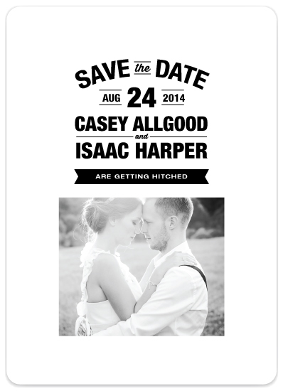 Stacked Frame   Save the Date