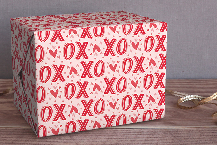 big xo wrapping paper by  pistols