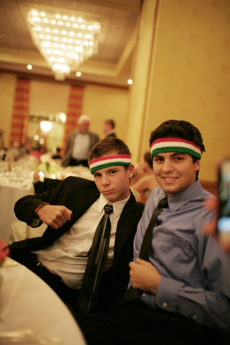 Italian sweatbands, you thought of EVERYTHING Nicole!