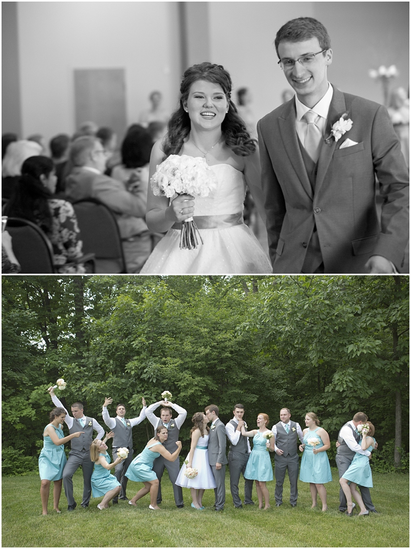 Their bridal party was a hoot..such a fun bunch!
