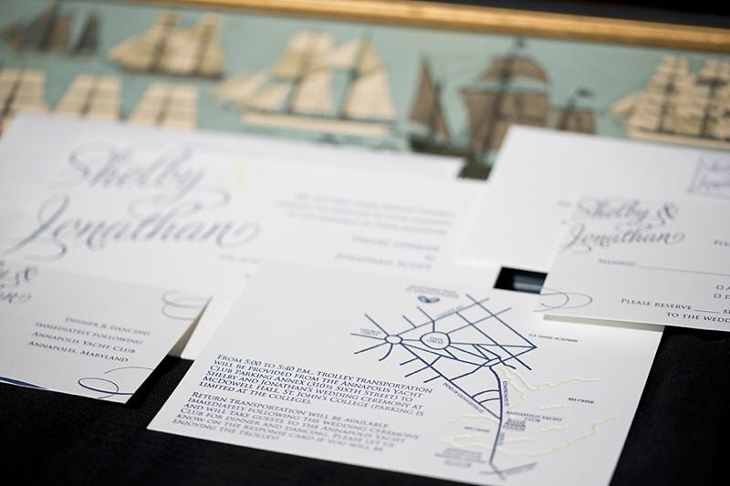 Quite impressive letterpress invites