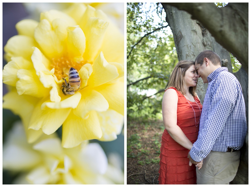 The wedding is going to be hops and honey themed so I attempted to get a ring shot with a bee in it...needless to say I failed, but I did get a bee!
