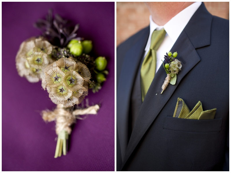 Loving the bouts..scabiosa pods are so cool!