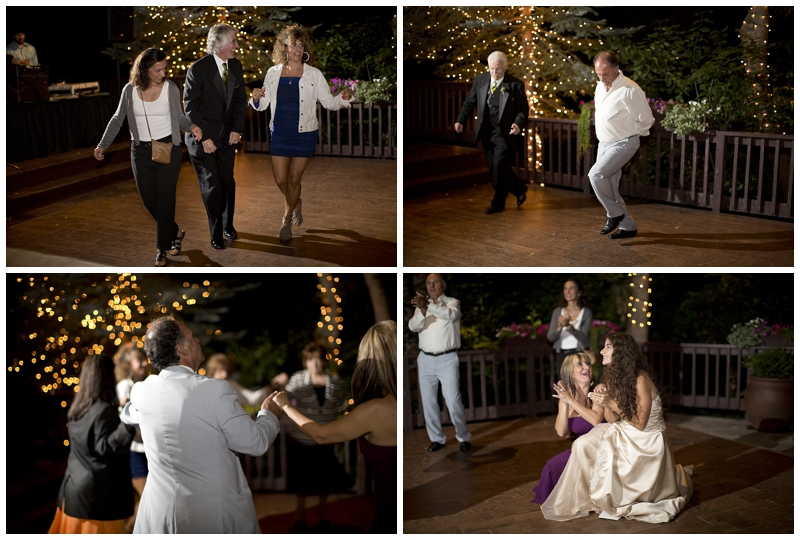 Even George had his own little solo dance, gotta love it when Dad's can cut a rug!