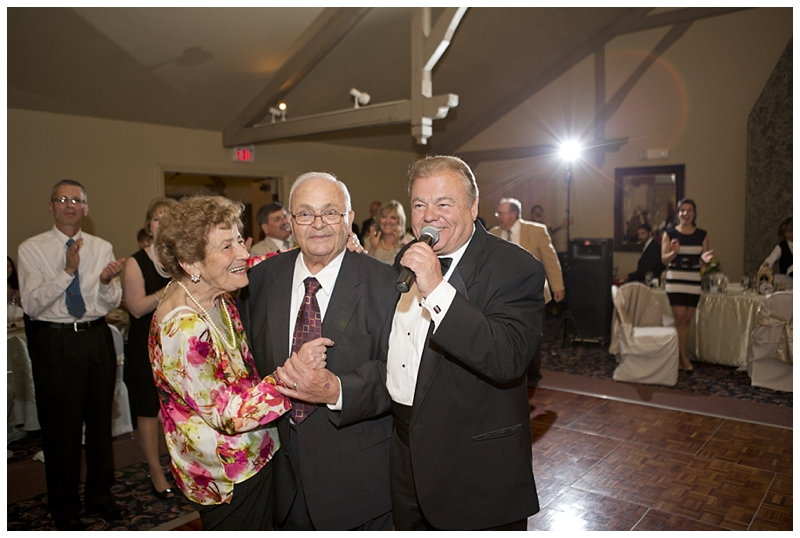 Grandma and Grandpa Eusanio were shocked to win the Anniversary dance :)