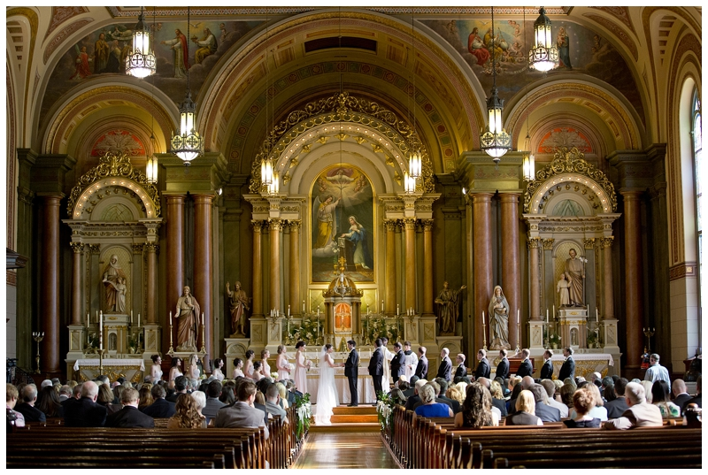 Old St. Mary's Cincinnati Ohio Wedding 2