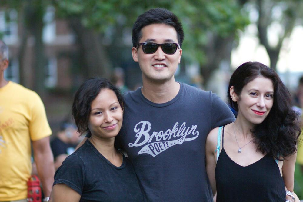 With Five Quarterly's Vanessa Gabb and Brooklyn Poet's Jason Koo