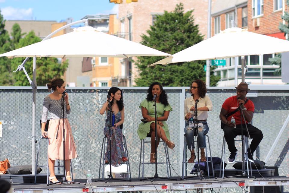 Monica McClure, Rosebud Ben-Oni, Miko Branch, Sai Lai Abrams and Taye Diggs