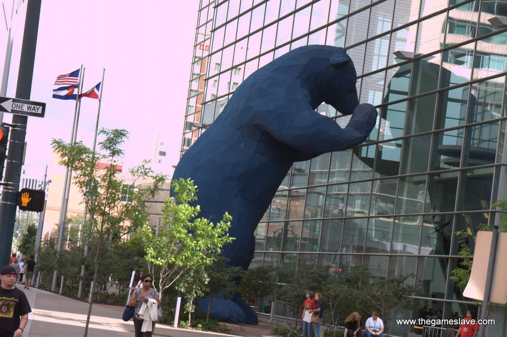 Big Blue Bear