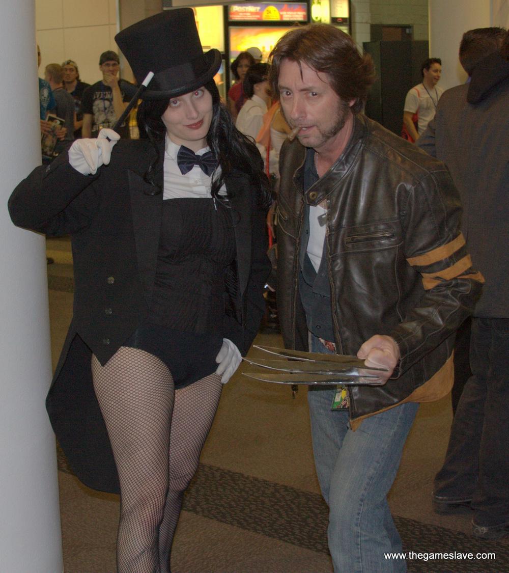Zatanna and Wolverine