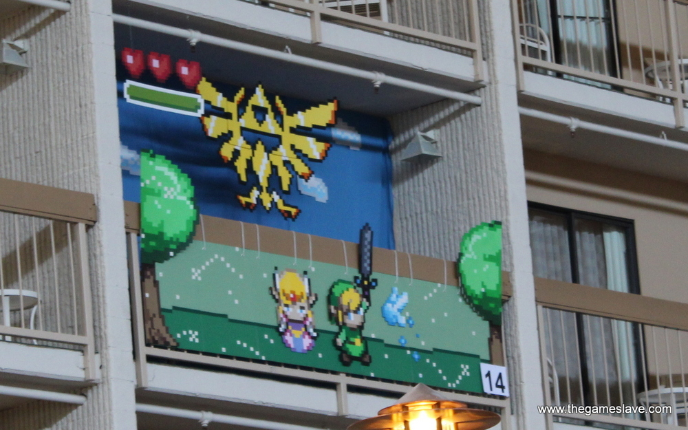 The Legend of Zelda in Atrium Room Contest