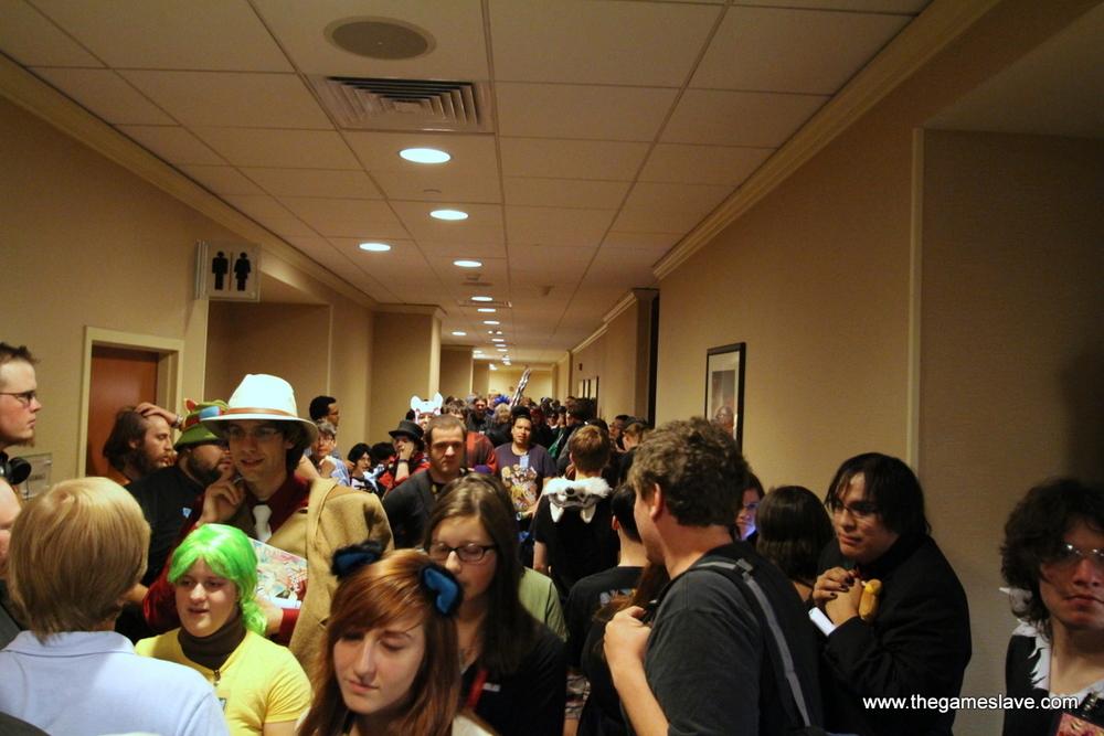 Crowded Hallways