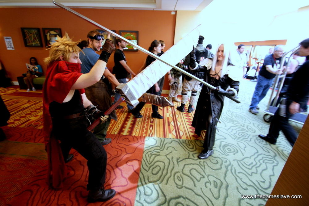 Cloud and Sephiroth from Final Fantasy VII