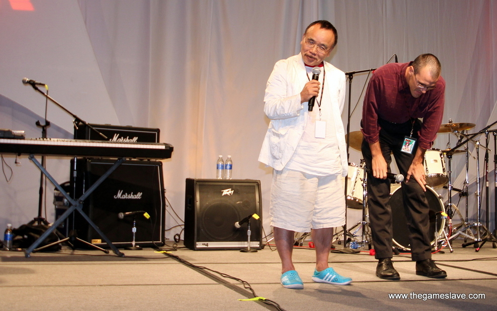 Masao Maruyama at Opening Ceremonies